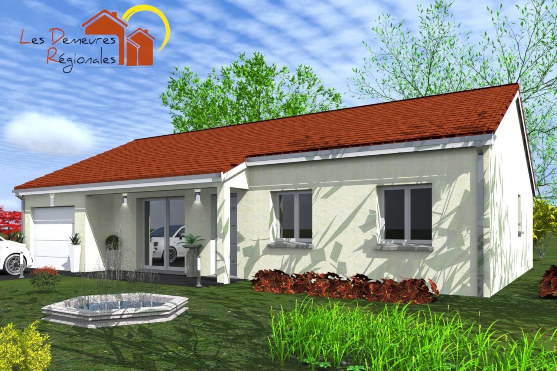 Maisons + Terrains du constructeur LES DEMEURES REGIONALES • 96 m² • ESPINASSE VOZELLE