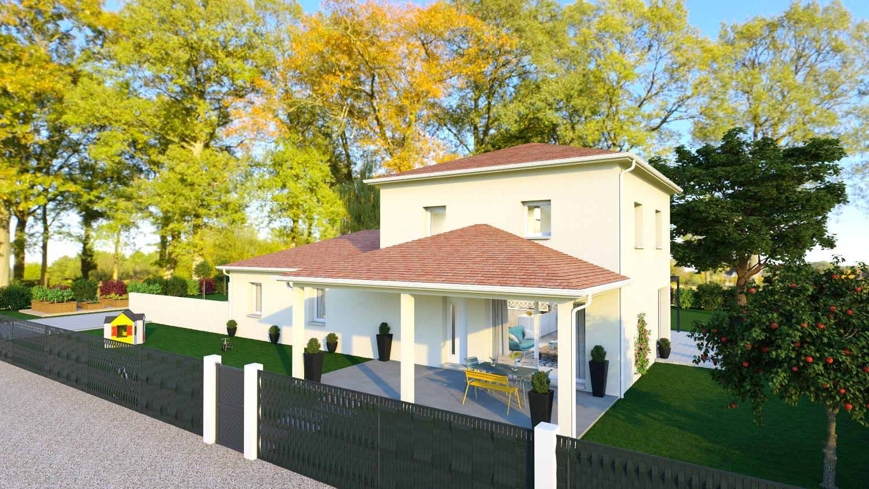 Maisons + Terrains du constructeur LES DEMEURES REGIONALES • 145 m² • BELLERIVE SUR ALLIER