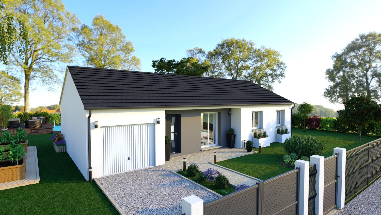 Maisons + Terrains du constructeur LES DEMEURES REGIONALES • 90 m² • BRUGHEAS