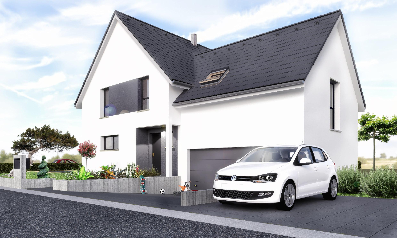 Maisons + Terrains du constructeur MAISONS CRISALIS • 140 m² • SAINT GERMAIN LE CHATELET