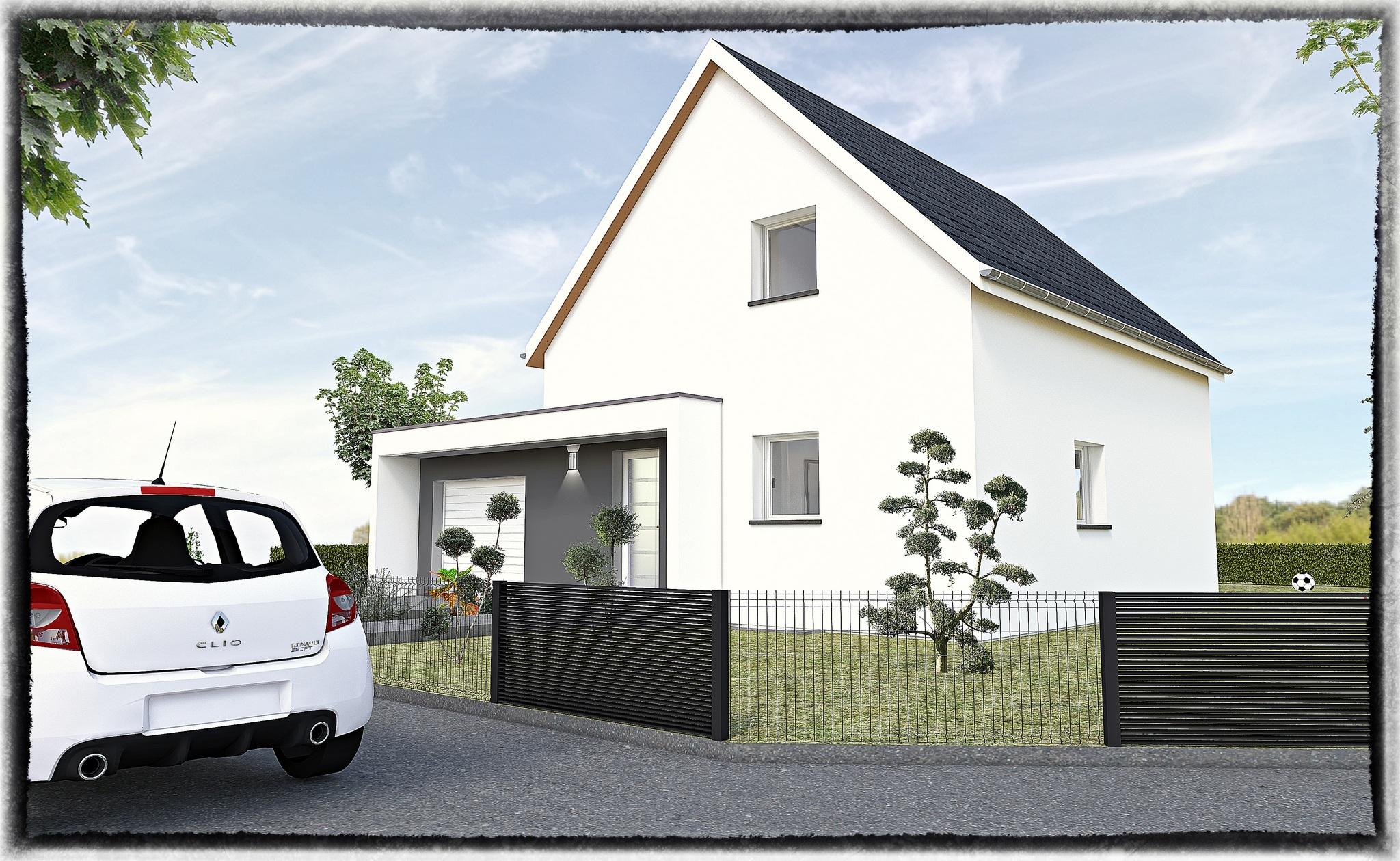 Maisons + Terrains du constructeur MAISONS CRISALIS • 100 m² • SAINT GERMAIN LE CHATELET