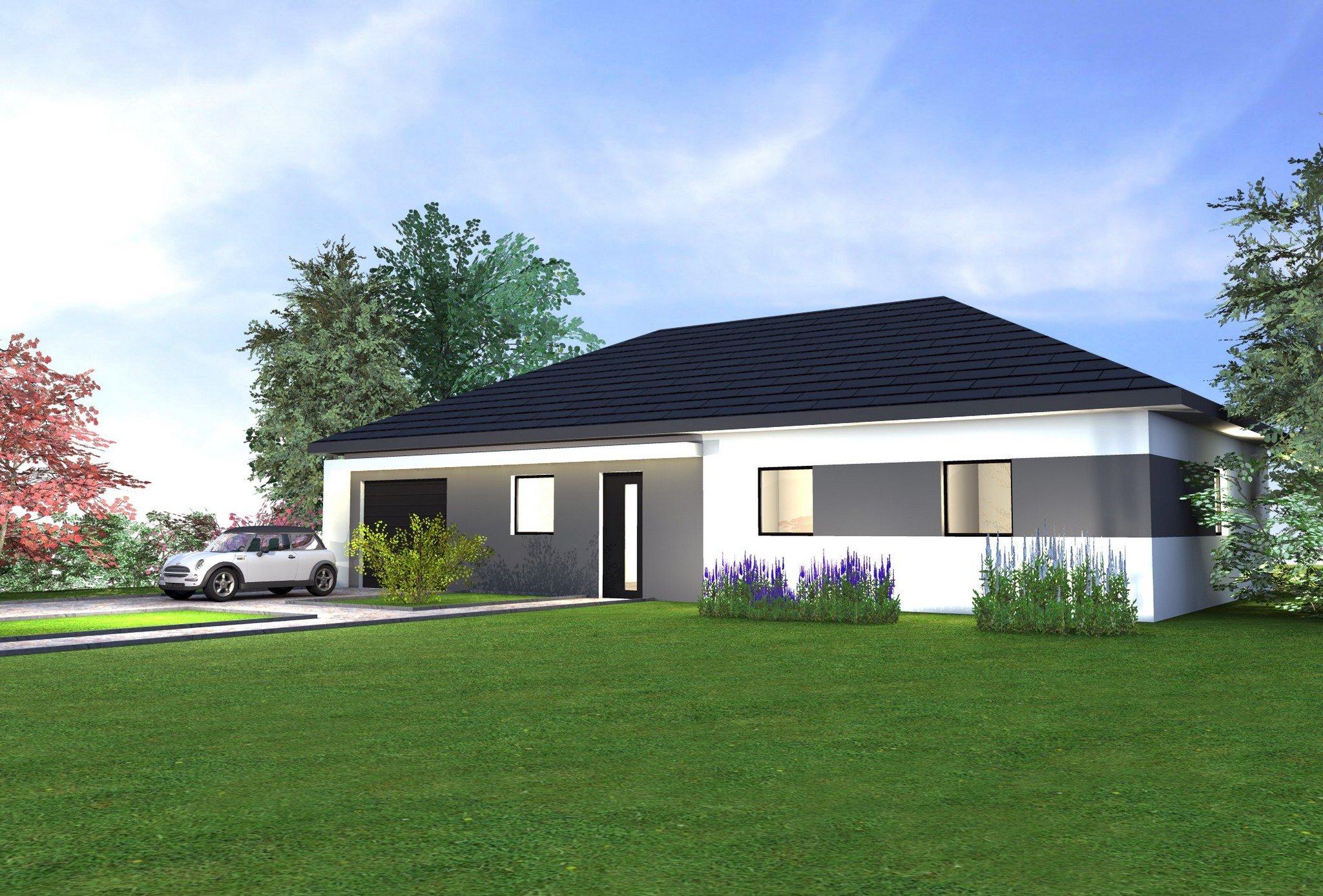 Maisons + Terrains du constructeur MAISONS CRISALIS • 97 m² • VEZELOIS