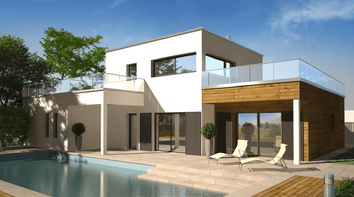 Maisons + Terrains du constructeur DEMEURES CALADOISES DESIGN • 120 m² • LA COTE SAINT ANDRE