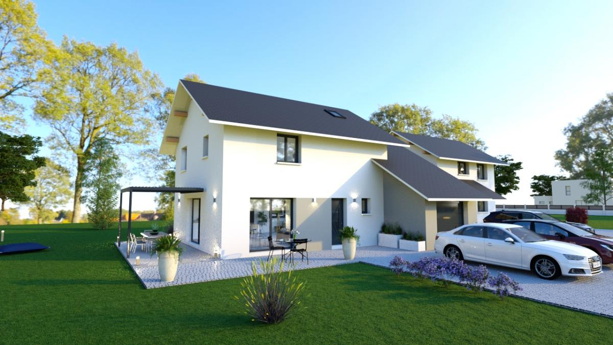 Maisons du constructeur Maisons R�proques 73 • 101 m² • SAINT JEAN D'ARVEY