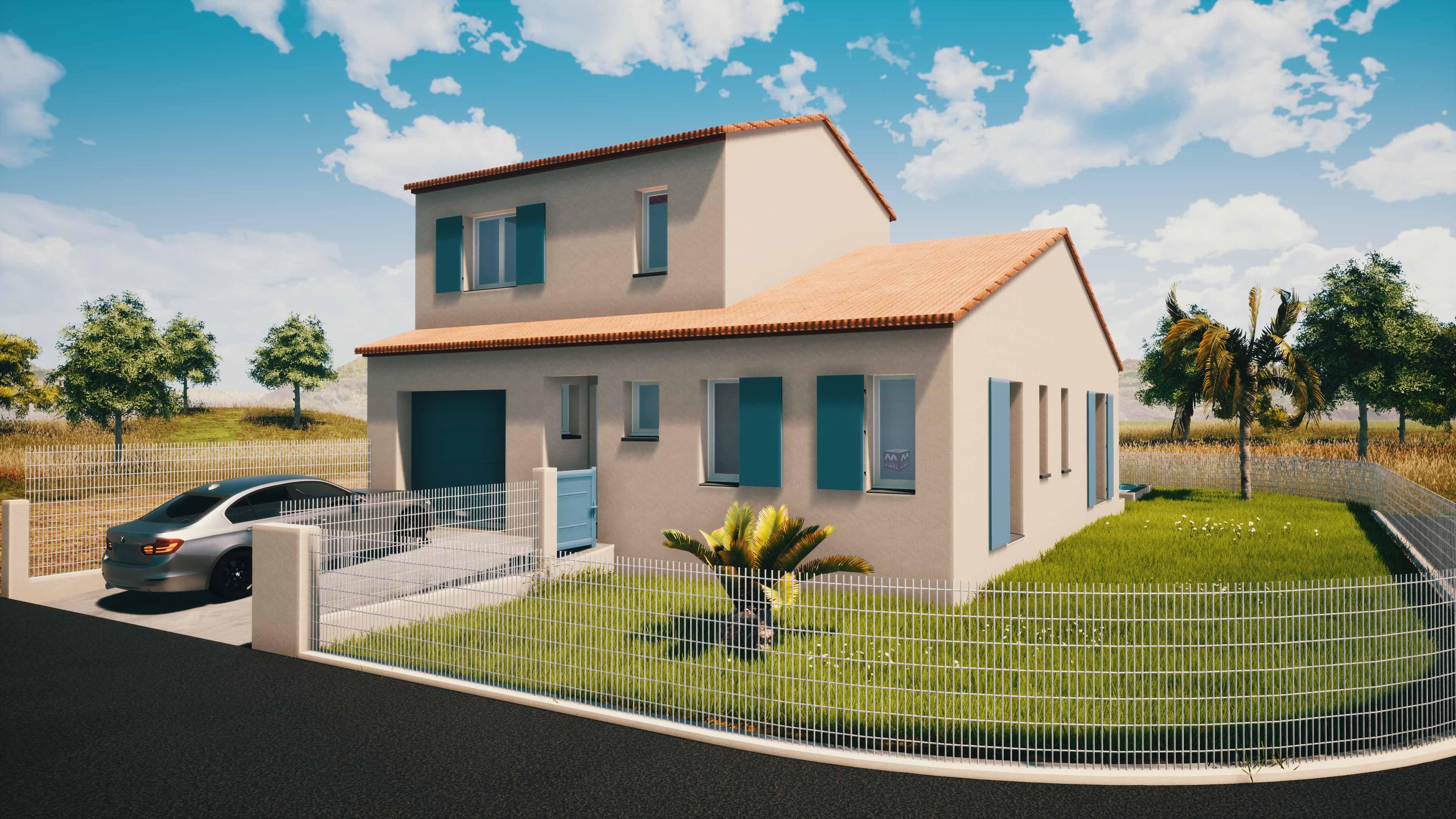 Maisons + Terrains du constructeur MAISONS VIBEL • 95 m² • SAINT JEAN LASSEILLE