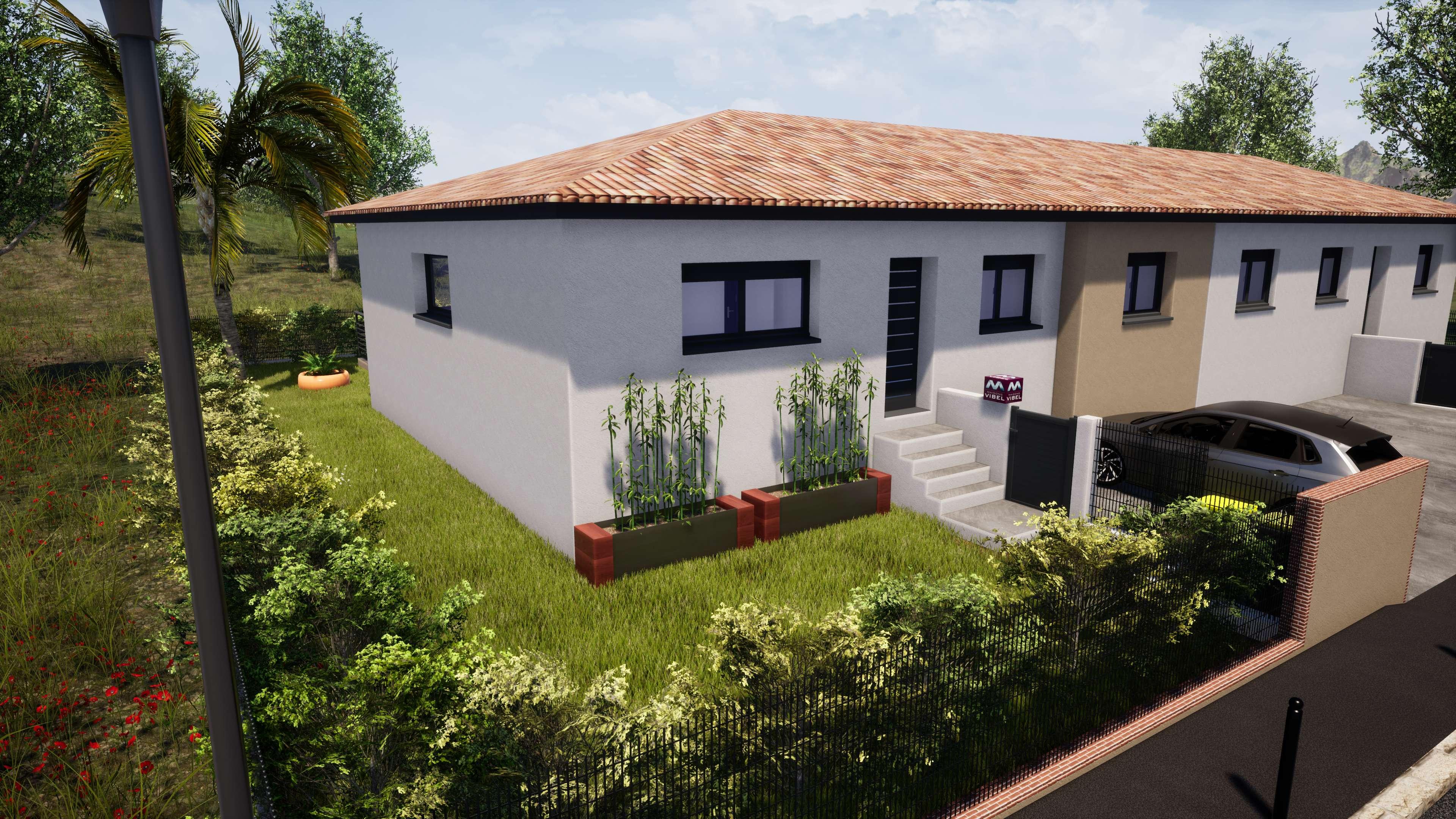 Maisons + Terrains du constructeur MAISONS VIBEL • 121 m² • BOMPAS