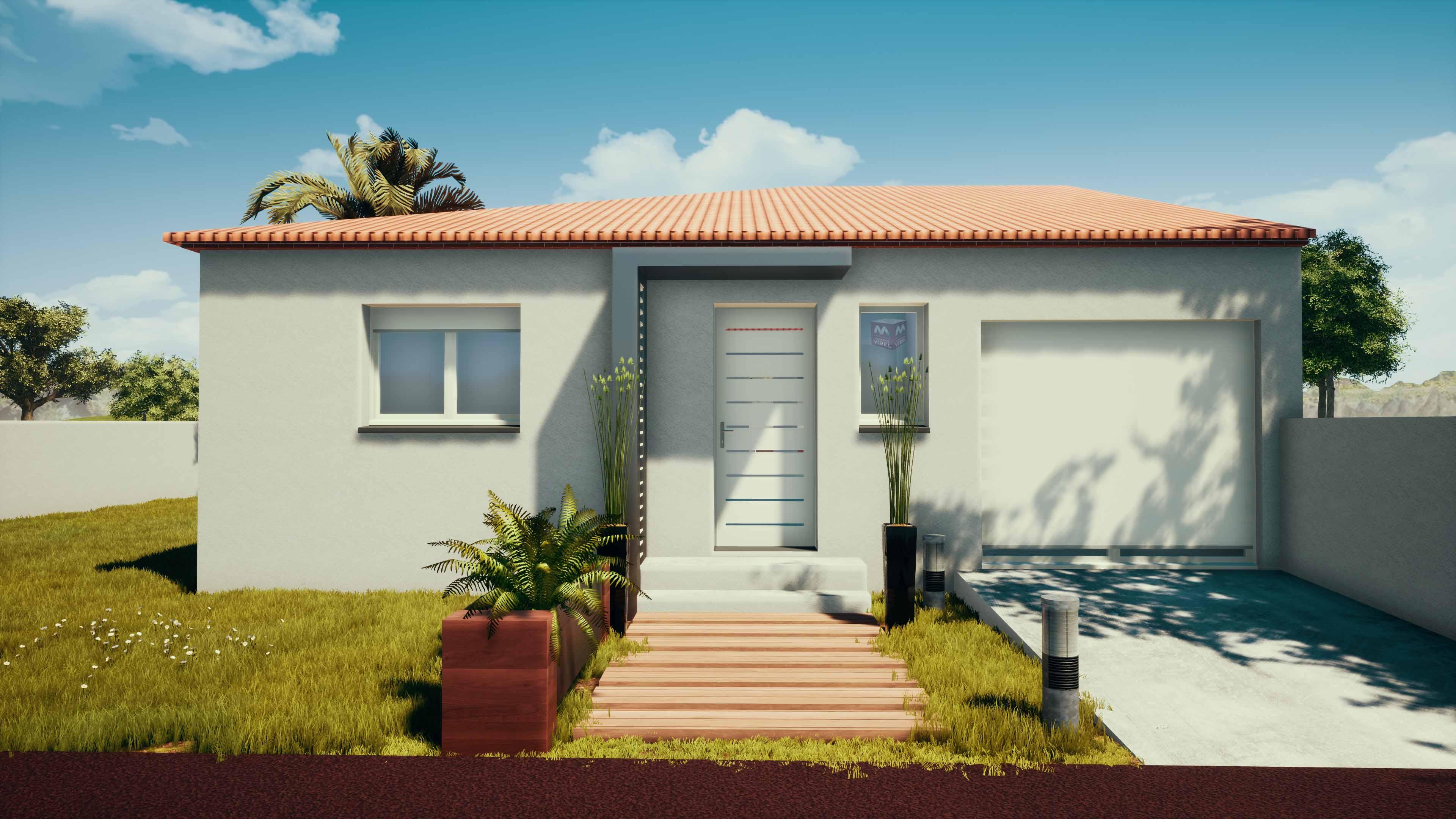 Maisons + Terrains du constructeur MAISONS VIBEL • 85 m² • LE BOULOU