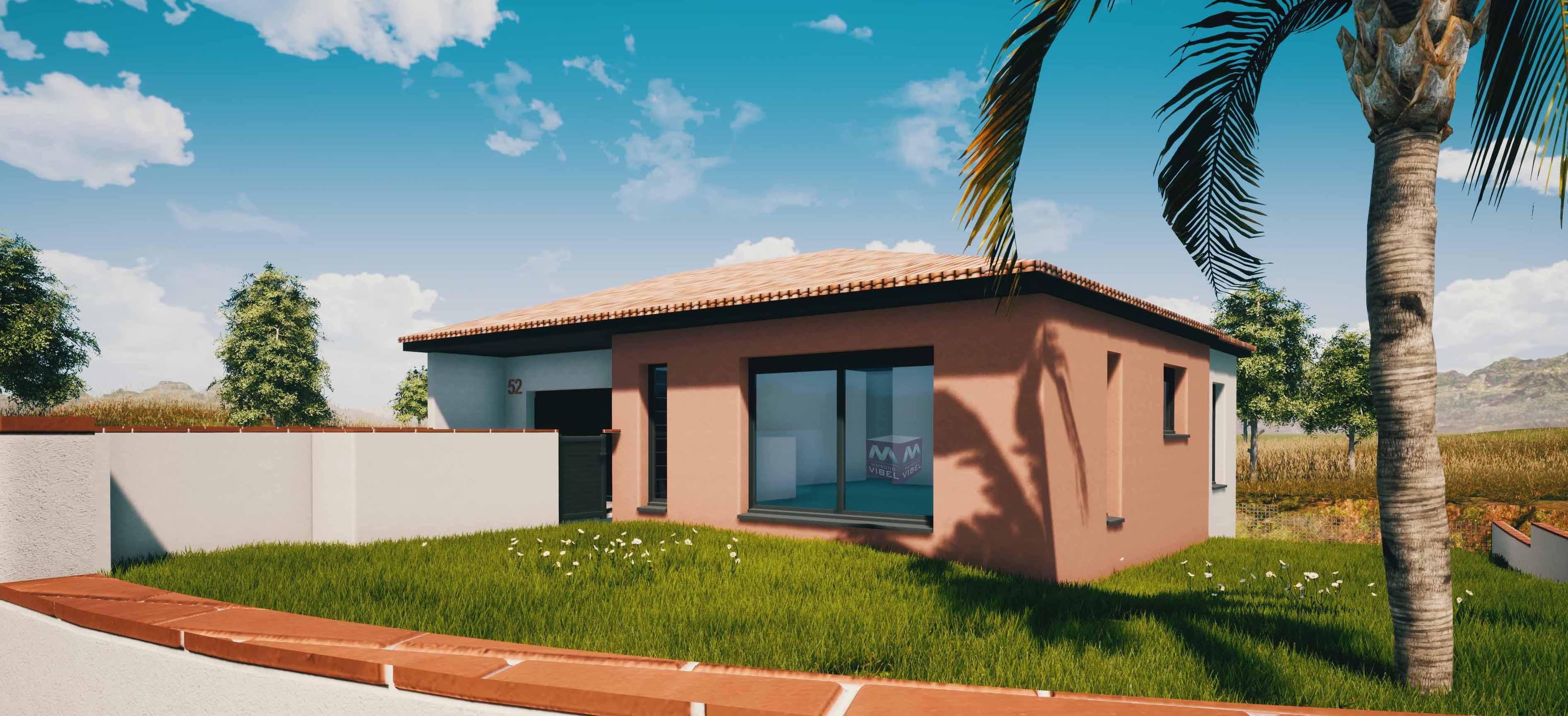 Maisons + Terrains du constructeur MAISONS VIBEL • 78 m² • SALSES LE CHATEAU