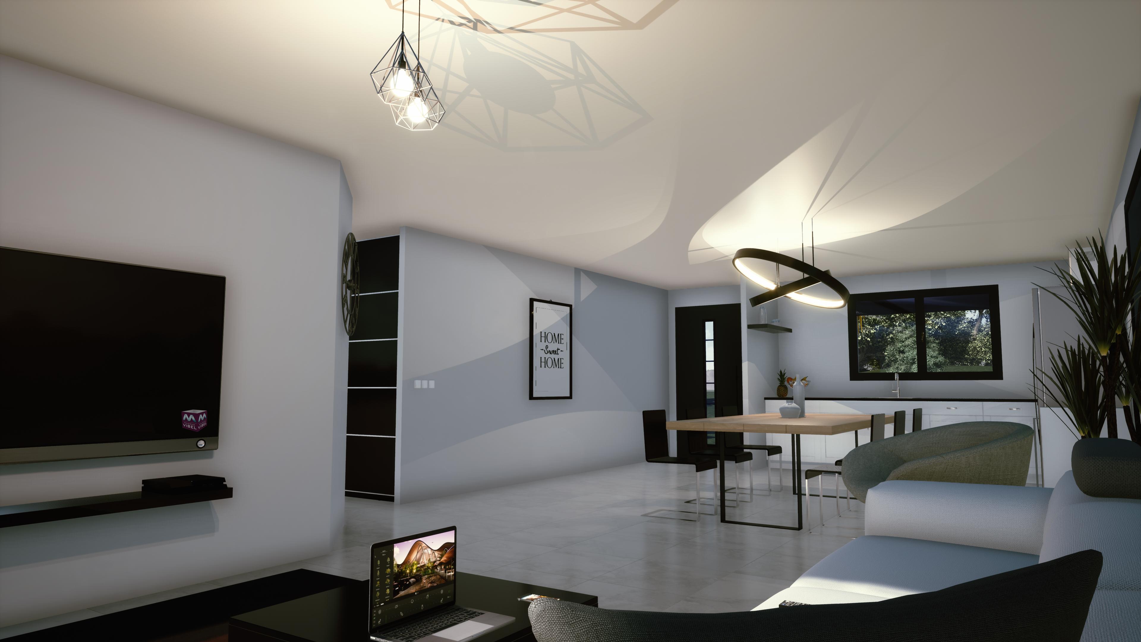 Maisons + Terrains du constructeur MAISONS VIBEL • 100 m² • CORBERE
