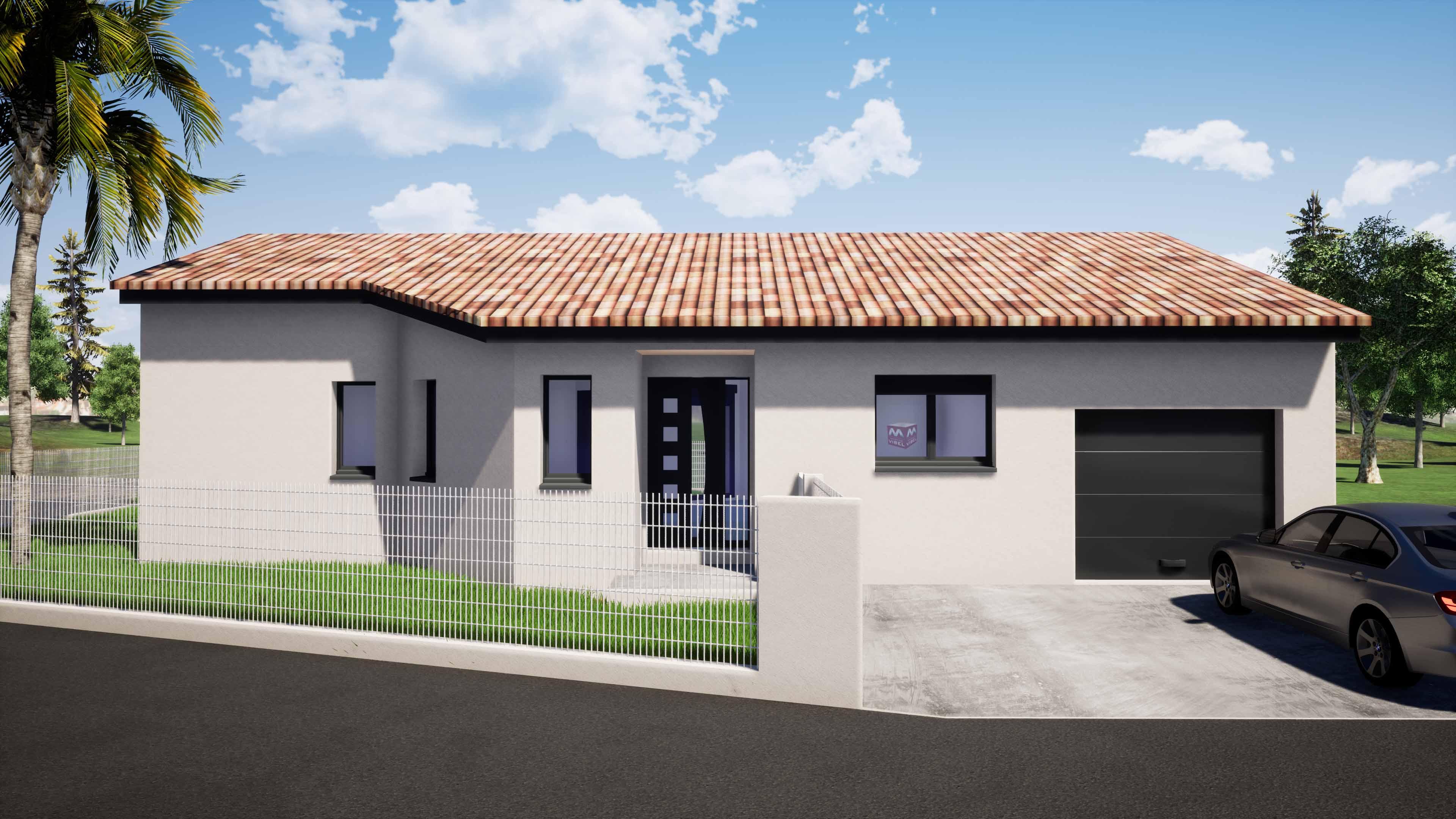 Maisons + Terrains du constructeur MAISONS VIBEL • 95 m² • SAINT JEAN PLA DE CORTS