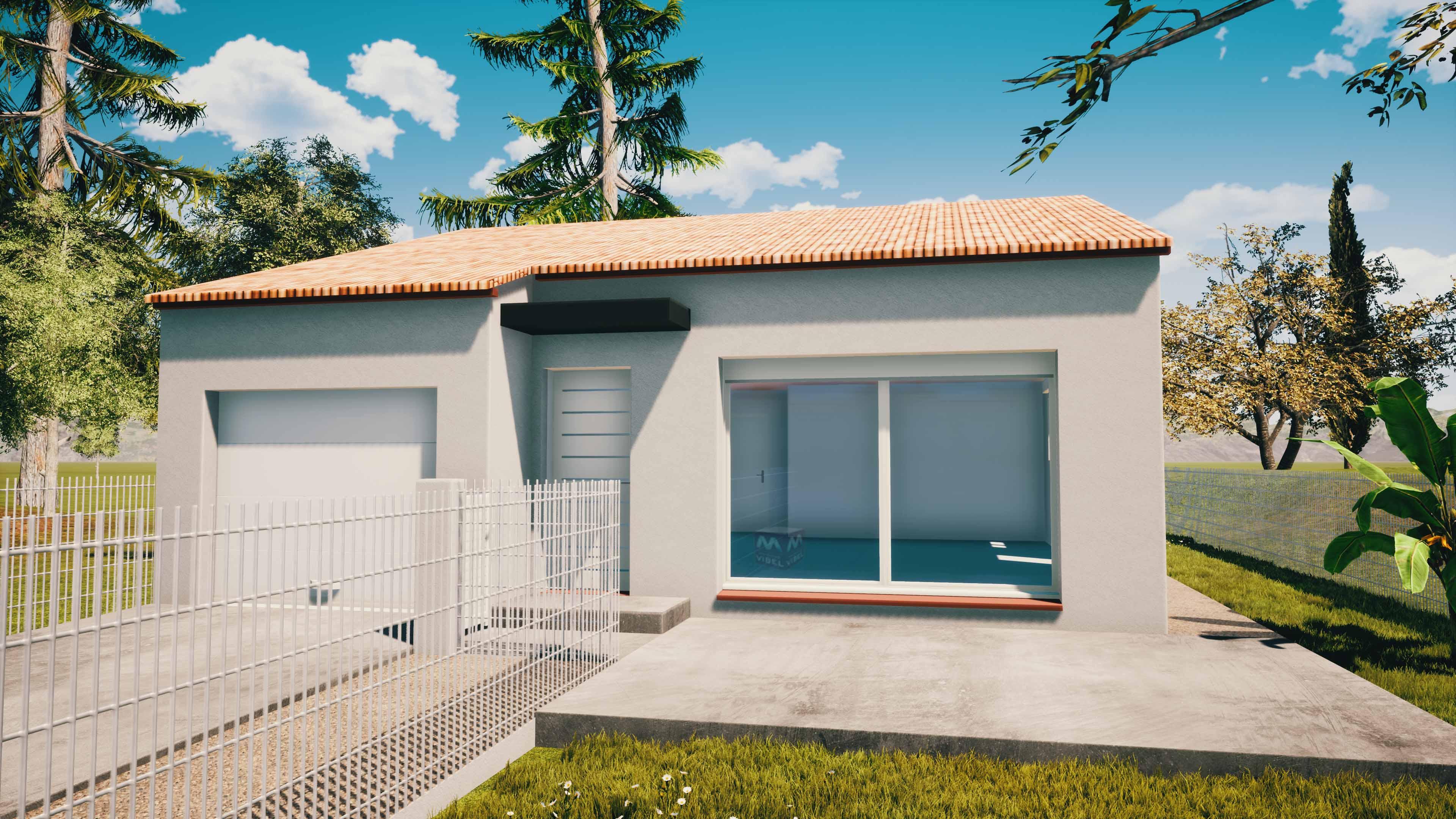Maisons + Terrains du constructeur MAISONS VIBEL • 85 m² • VINCA