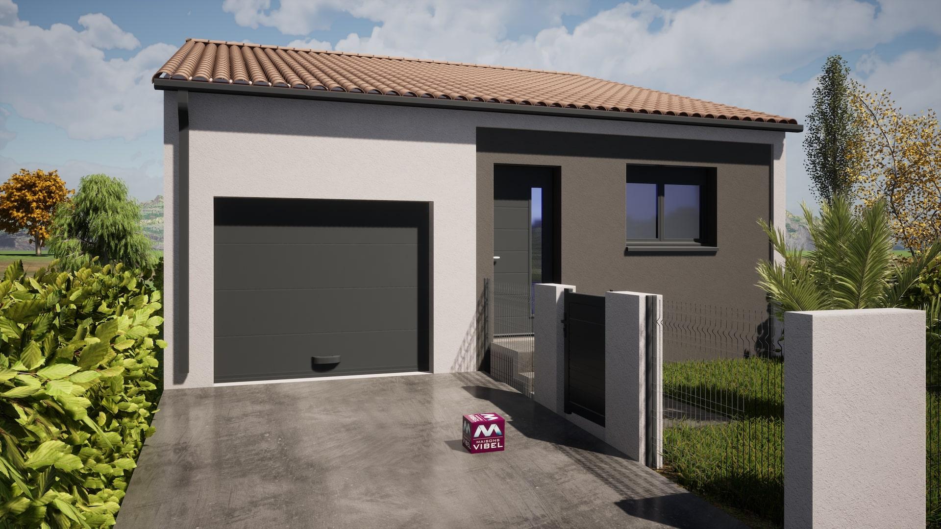 Maisons + Terrains du constructeur MAISONS VIBEL • 67 m² • THUIR