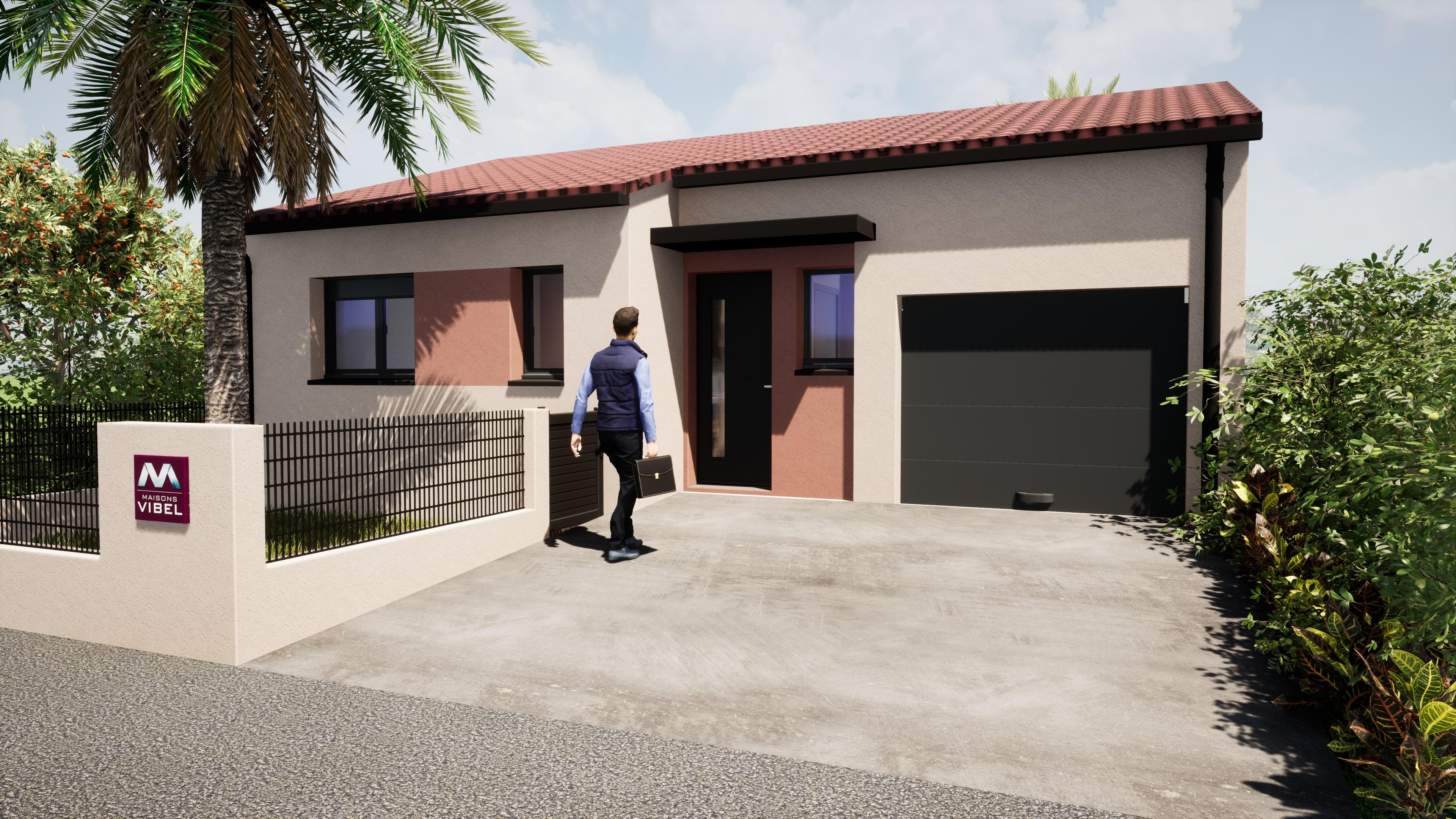 Maisons + Terrains du constructeur MAISONS VIBEL • 71 m² • THUIR