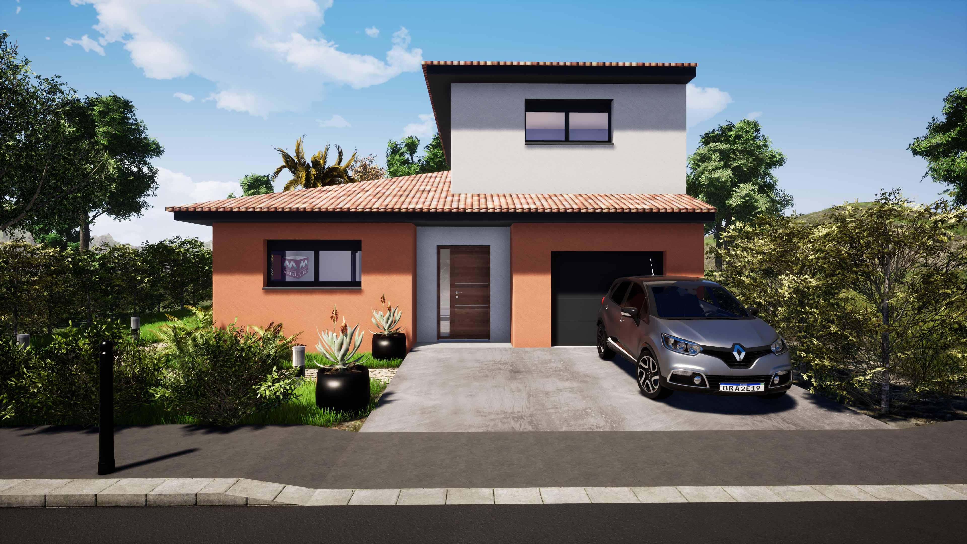 Maisons + Terrains du constructeur MAISONS VIBEL • 95 m² • THUIR