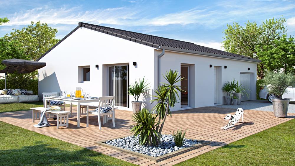 Maisons + Terrains du constructeur ALPHA CONSTRUCTIONS BAZAS • 80 m² • SIGALENS