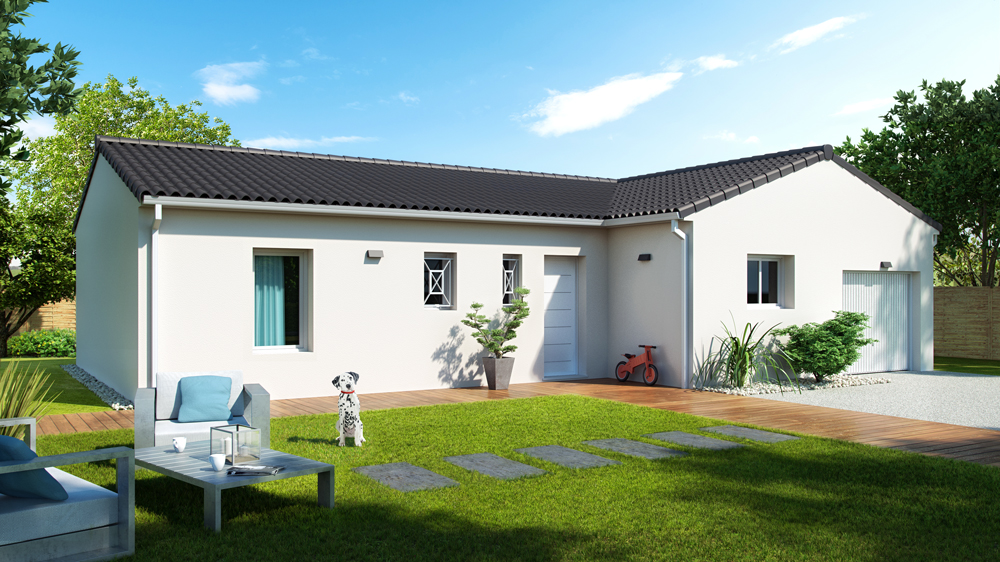 Maisons + Terrains du constructeur ALPHA CONSTRUCTIONS BAZAS • 75 m² • VILLANDRAUT