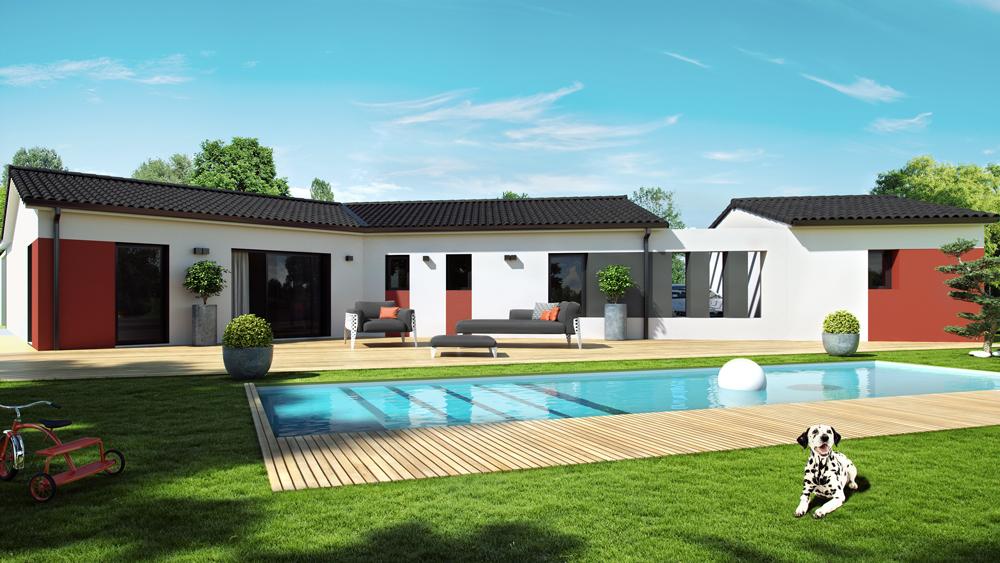 Maisons + Terrains du constructeur ALPHA CONSTRUCTIONS BAZAS • 110 m² • LA REUNION