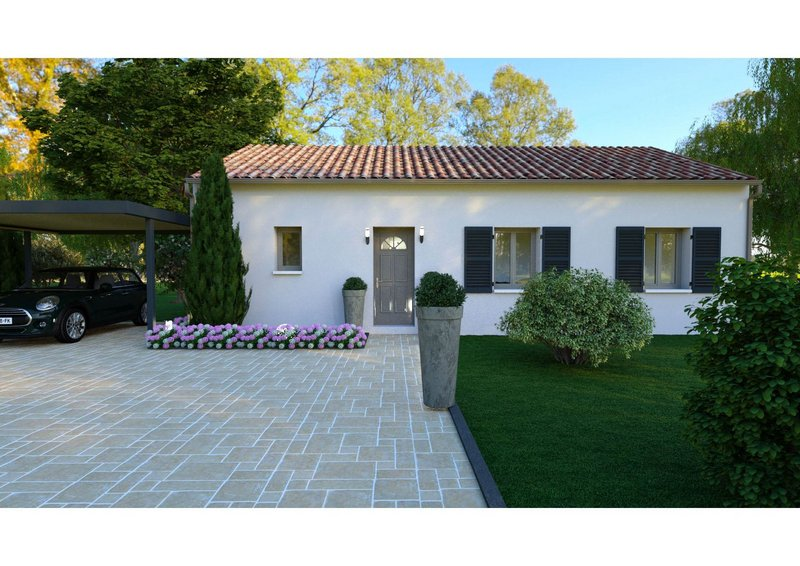 Maisons du constructeur LES MAISONS AURA - AGENCE DE BERGERAC • 75 m² • SARLAT LA CANEDA