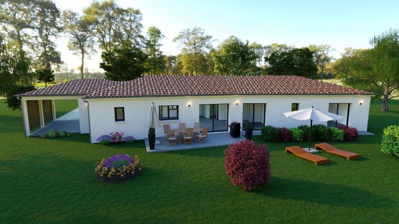 Maisons du constructeur LES MAISONS AURA - AGENCE DE BERGERAC • 131 m² • CENAC ET SAINT JULIEN