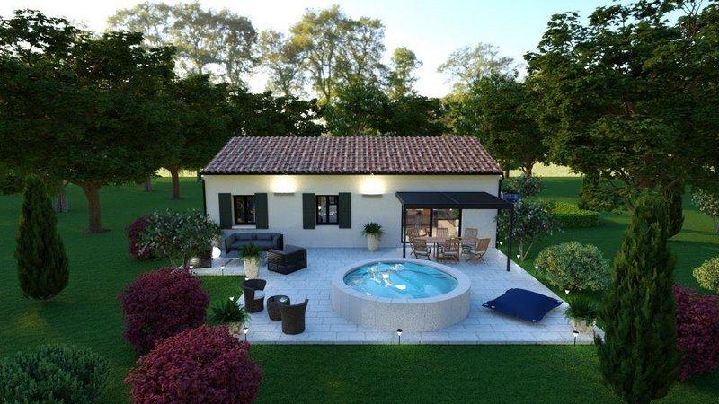 Maisons du constructeur LES MAISONS AURA - AGENCE DE BERGERAC • 85 m² • LA CHAPELLE AUBAREIL