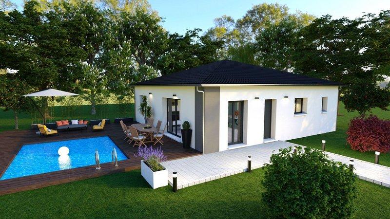 Terrains du constructeur LES MAISONS AURA - AGENCE DE BERGERAC • 2463 m² • MONTIGNAC