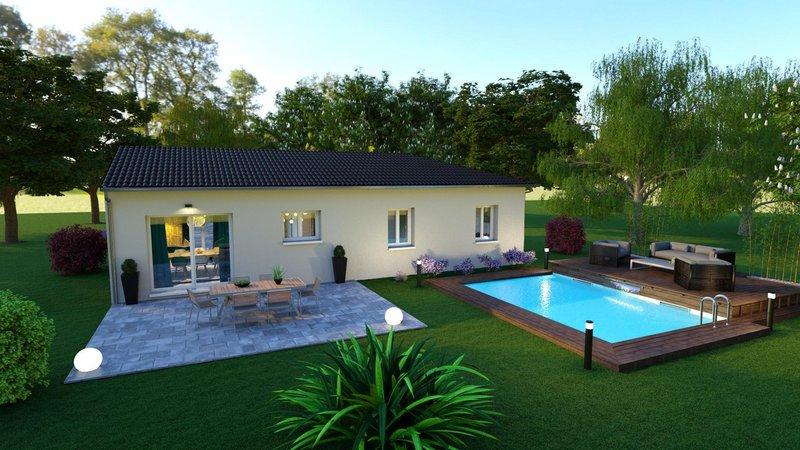 Maisons du constructeur LES MAISONS AURA - AGENCE DE BERGERAC • 100 m² • LE FLEIX