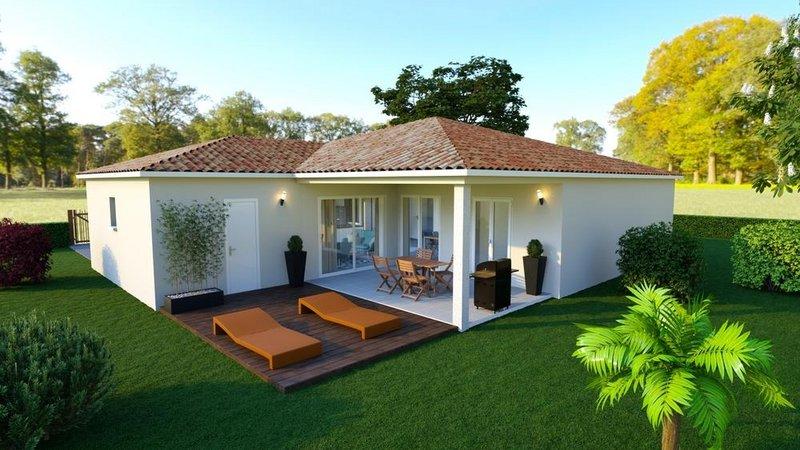 Maisons du constructeur LES MAISONS AURA - AGENCE DE BERGERAC • 85 m² • LE FLEIX