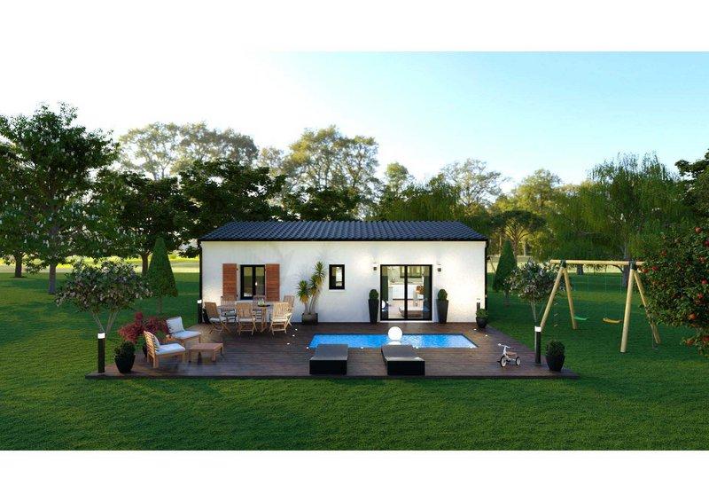 Maisons du constructeur LES MAISONS AURA - AGENCE DE BERGERAC • 66 m² • COURS DE PILE