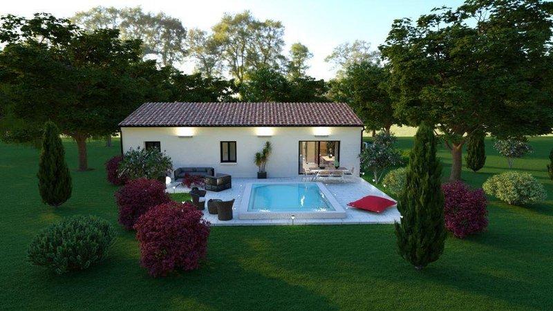 Terrains du constructeur LES MAISONS AURA - AGENCE DE BERGERAC • 1549 m² • SAUSSIGNAC