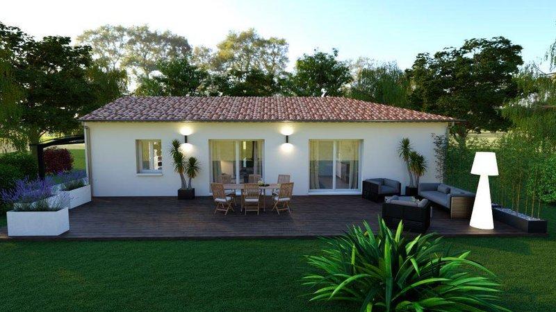 Maisons du constructeur LES MAISONS AURA - AGENCE DE BERGERAC • 66 m² • SAINT NEXANS