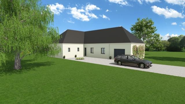 Maisons du constructeur TRADI ATLAS • 140 m² • CHATEAUROUX