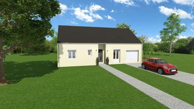 Maisons du constructeur TRADI ATLAS • 79 m² • VINEUIL