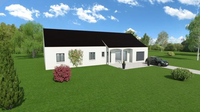 Maisons du constructeur TRADI ATLAS • 130 m² • VEUIL