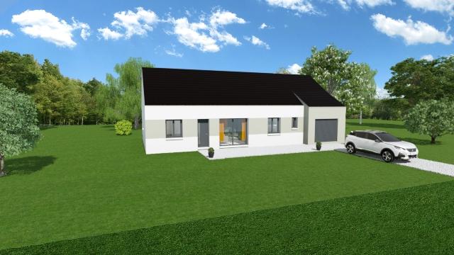 Maisons du constructeur TRADI ATLAS • 110 m² • VALENCAY