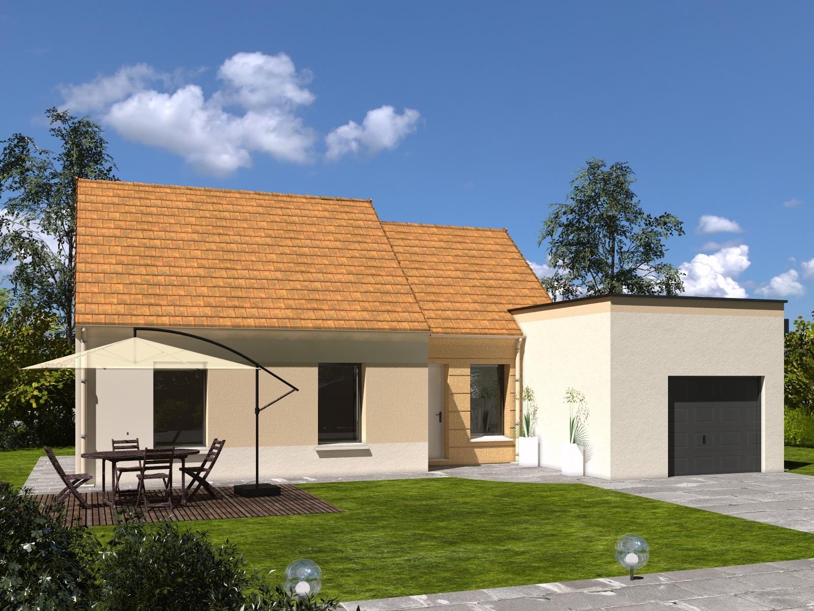 Maisons + Terrains du constructeur Les Maisons Lelievre • 87 m² • CORMES