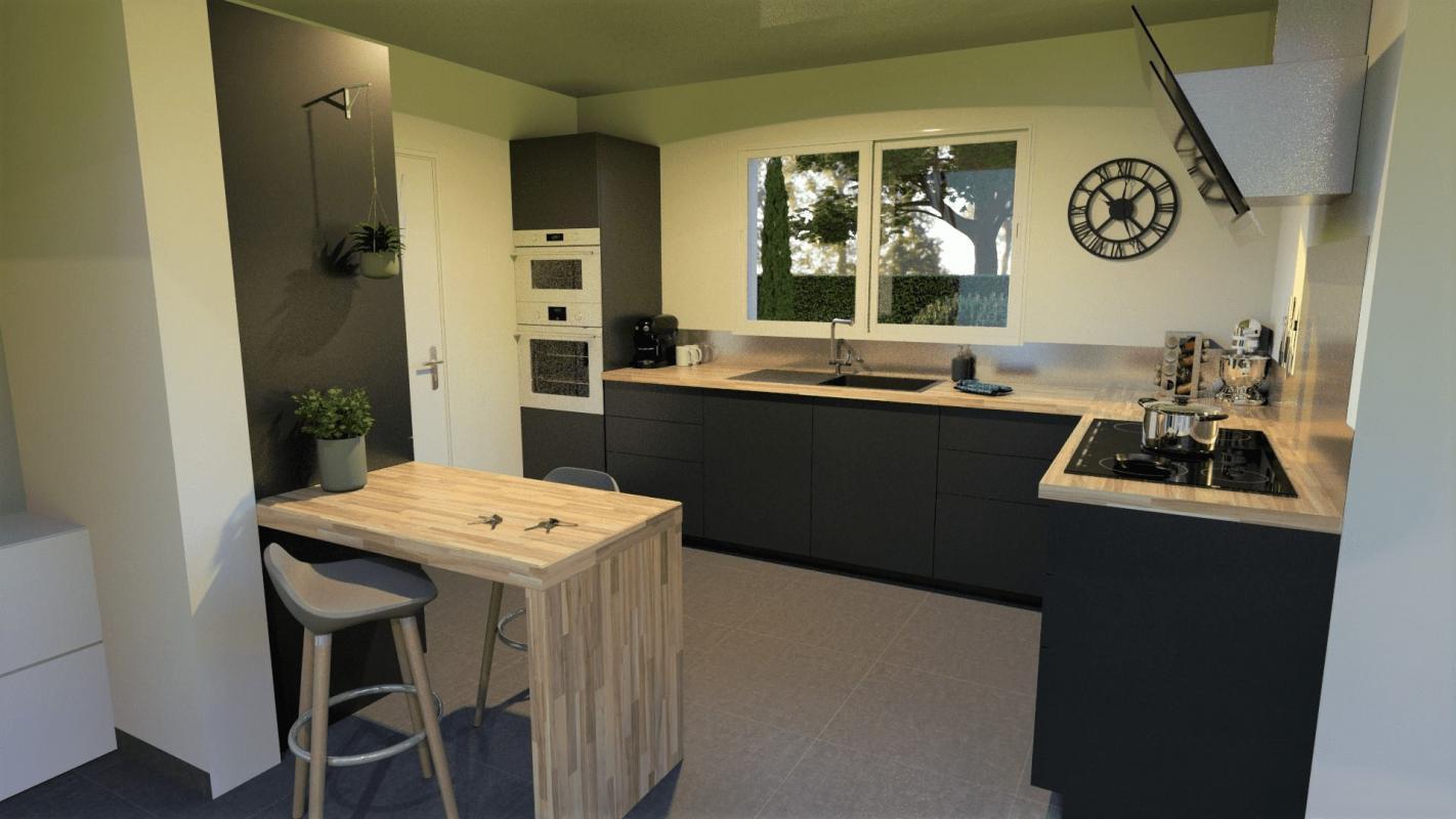 Maisons + Terrains du constructeur MAISONS OLMIERE • 100 m² • LABRUGUIERE
