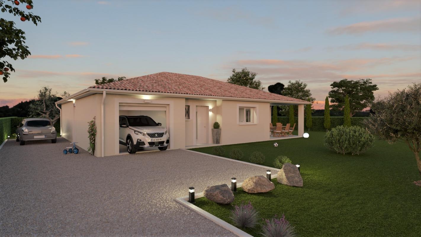 Maisons + Terrains du constructeur MAISONS OLMIERE • 110 m² • CADALEN