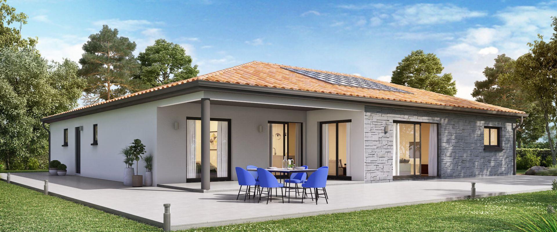 Maisons + Terrains du constructeur MAISONS OLMIERE • 130 m² • ALBI
