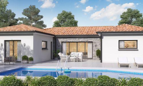 Maisons + Terrains du constructeur MAISONS OLMIERE • 120 m² • FREJAIROLLES