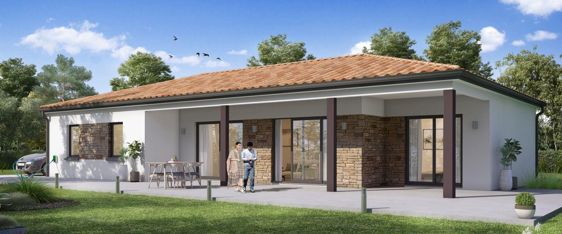 Maisons + Terrains du constructeur MAISONS OLMIERE • 110 m² • LISLE SUR TARN