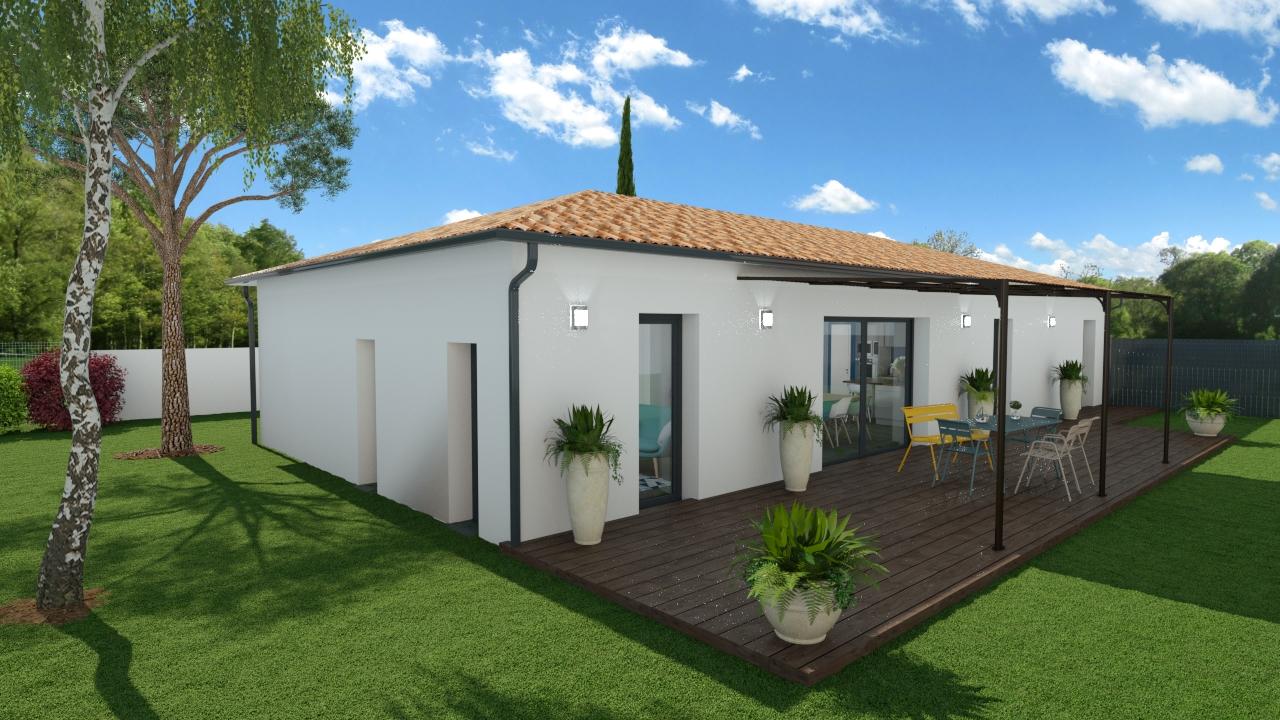 Maisons + Terrains du constructeur MAISONS OLMIERE • 105 m² • BRENS