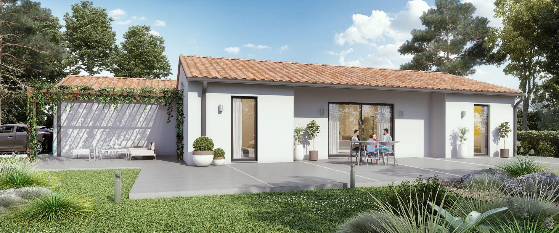 Maisons + Terrains du constructeur MAISONS OLMIERE • 100 m² • FLORENTIN