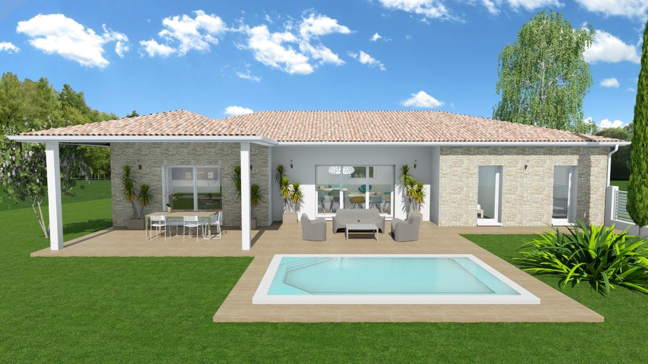 Maisons + Terrains du constructeur MAISONS OLMIERE • 120 m² • SAINT LIEUX LES LAVAUR