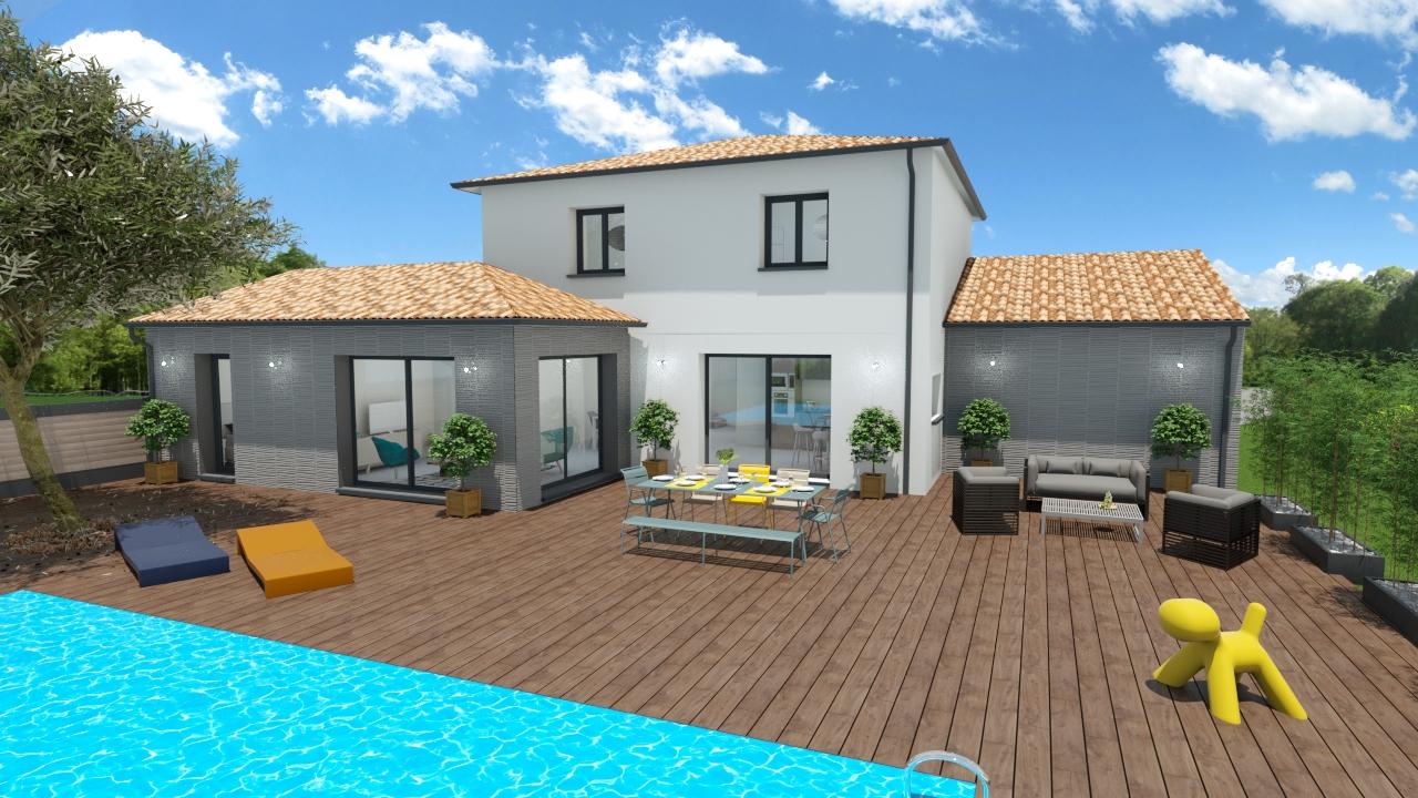 Maisons + Terrains du constructeur MAISONS OLMIERE • 130 m² • SAINT SULPICE