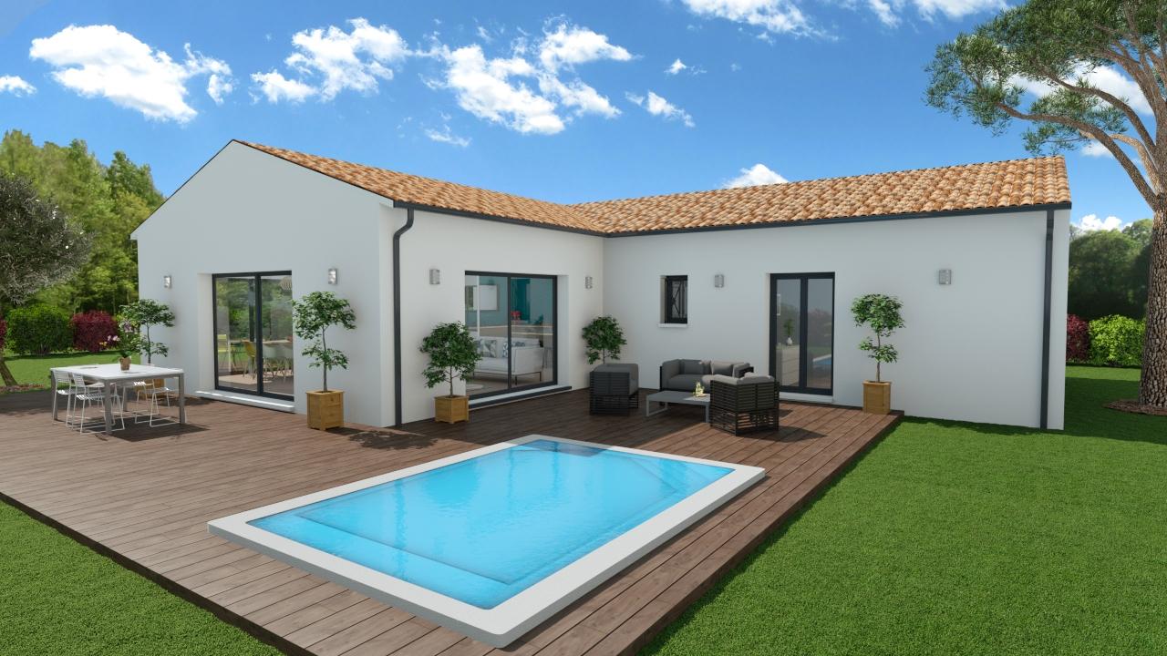 Maisons + Terrains du constructeur MAISONS OLMIERE • 110 m² • DENAT