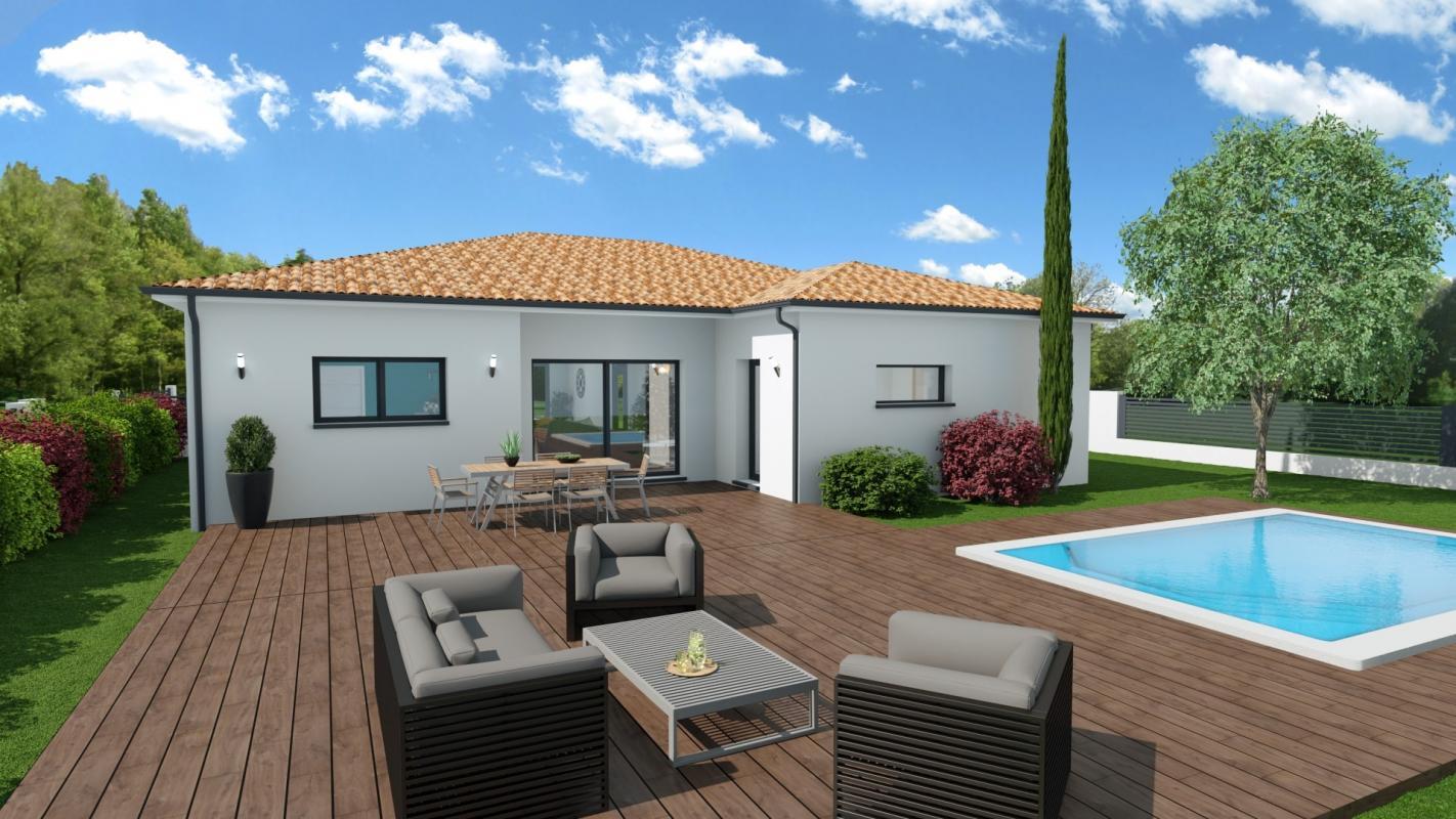 Maisons + Terrains du constructeur MAISONS OLMIERE • 110 m² • PUYGOUZON