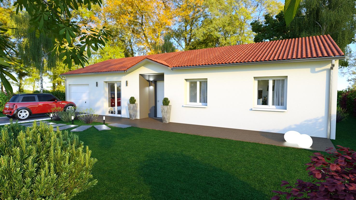 Maisons + Terrains du constructeur LOGIVELAY • 80 m² • CHADRAC