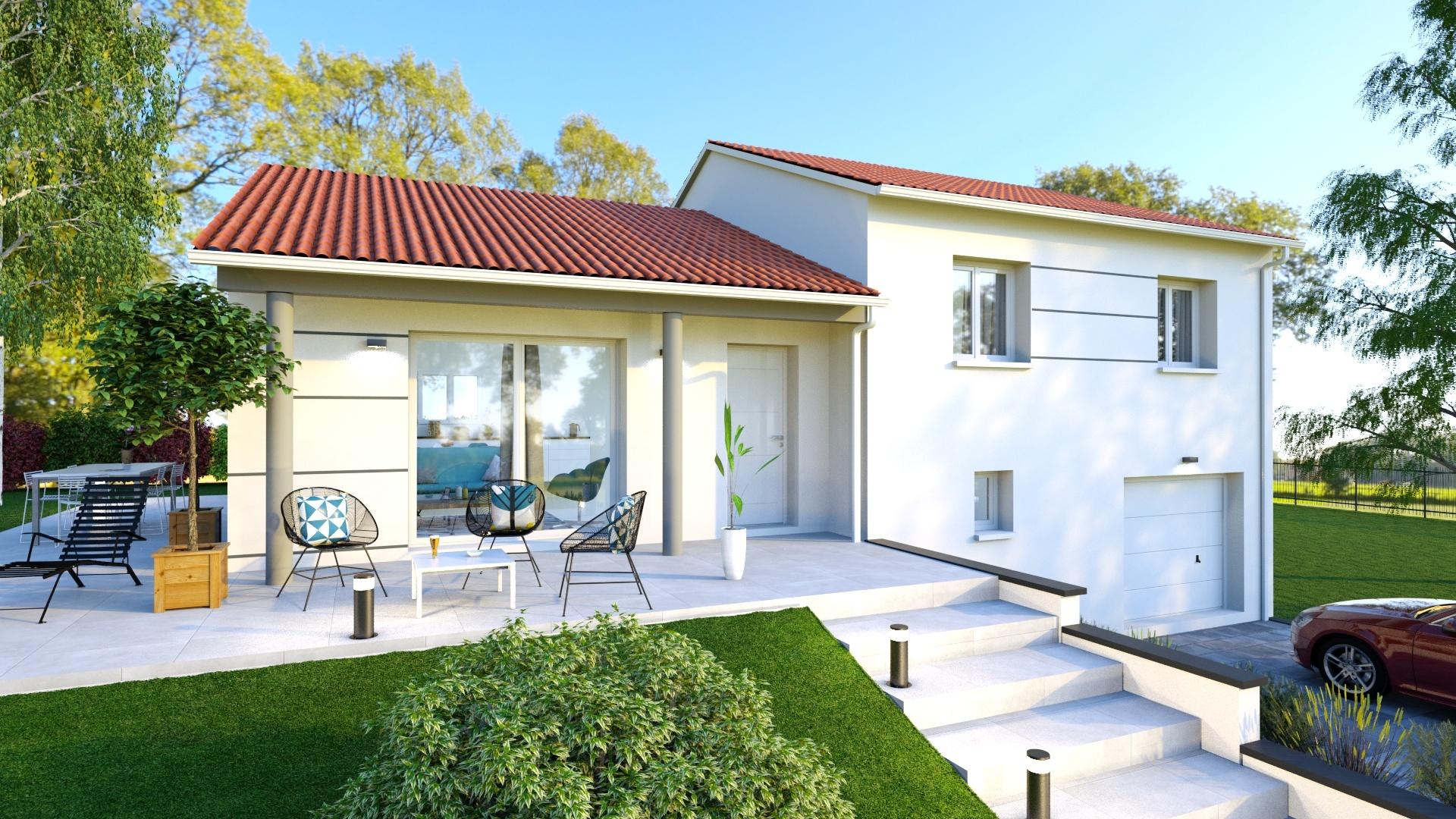 Maisons + Terrains du constructeur LOGIVELAY • 90 m² • ARSAC EN VELAY