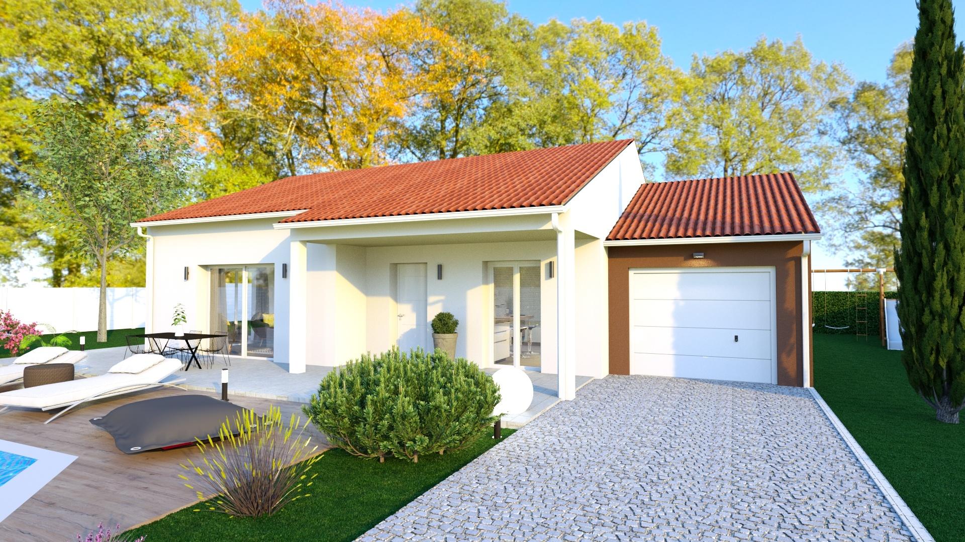 Maisons + Terrains du constructeur LOGIVELAY • 90 m² • LE PUY EN VELAY