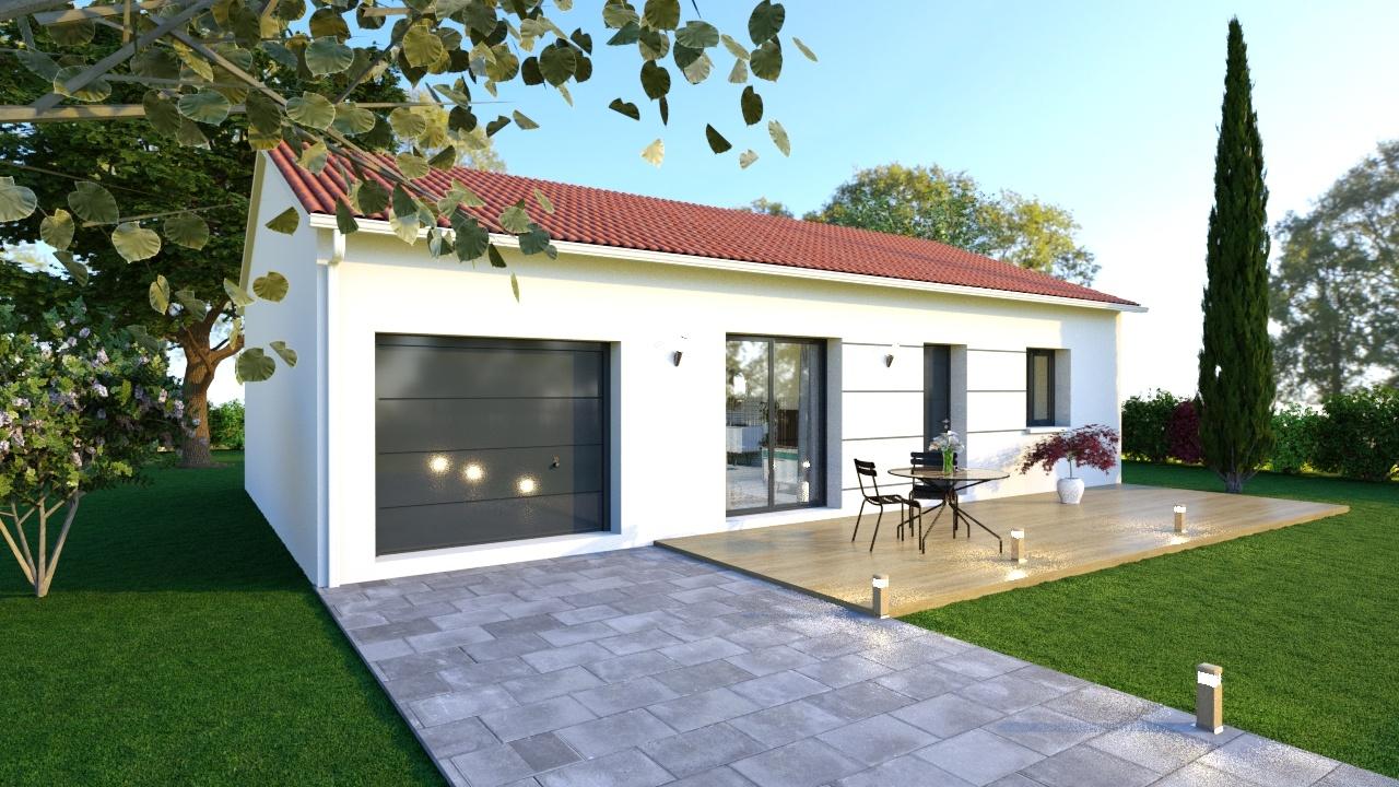 Maisons + Terrains du constructeur LOGIVELAY • 70 m² • ESPALY SAINT MARCEL